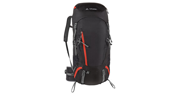 VAUDE Asymmetric 52+8 Backpack black